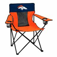Denver Broncos Elite Tailgating Chair