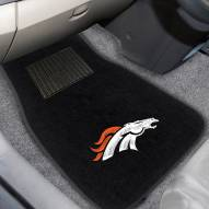 Denver Broncos Embroidered Car Mats