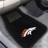 Denver Broncos Embroidered Car Mats