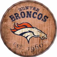 """Denver Broncos Established Date 24"""" Barrel Top"""