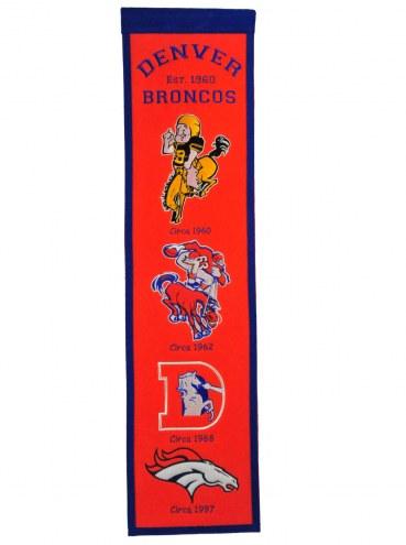 Denver Broncos Fan Favorite Banner