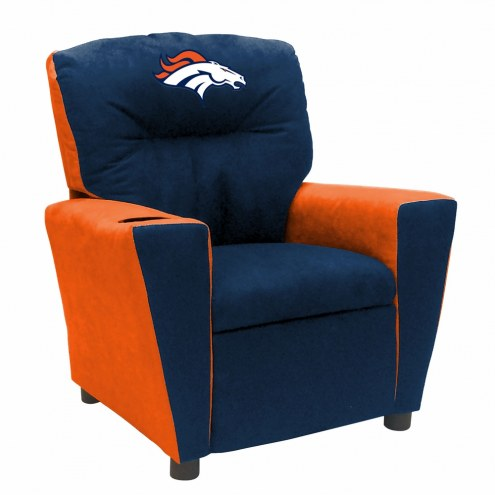 Denver Broncos Fan Favorite Kid's Recliner