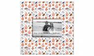 """Denver Broncos Floral Pattern 10"""" x 10"""" Picture Frame"""