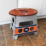 Denver Broncos Folding Step Stool