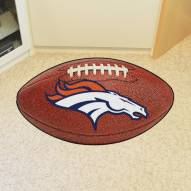 Denver Broncos Football Floor Mat