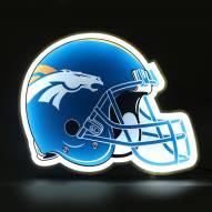 Denver Broncos Football Helmet LED Lamp