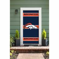 Denver Broncos Front Door Cover