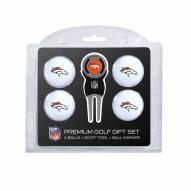 Denver Broncos Golf Ball Gift Set