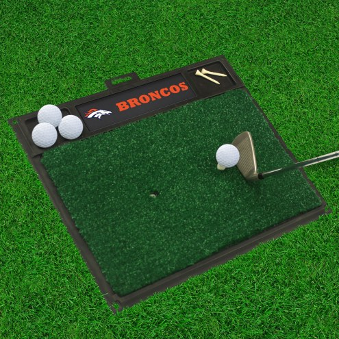 Denver Broncos Golf Hitting Mat