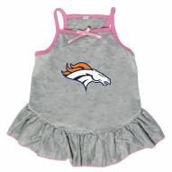 Denver Broncos Gray Dog Dress