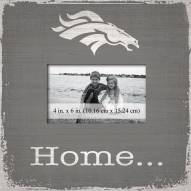 Denver Broncos Home Picture Frame