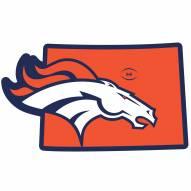 "Denver Broncos Home State 11"""" Magnet"