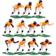 Denver Broncos Home Uniform Action Figure Set