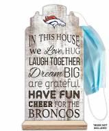 Denver Broncos In This House Mask Holder