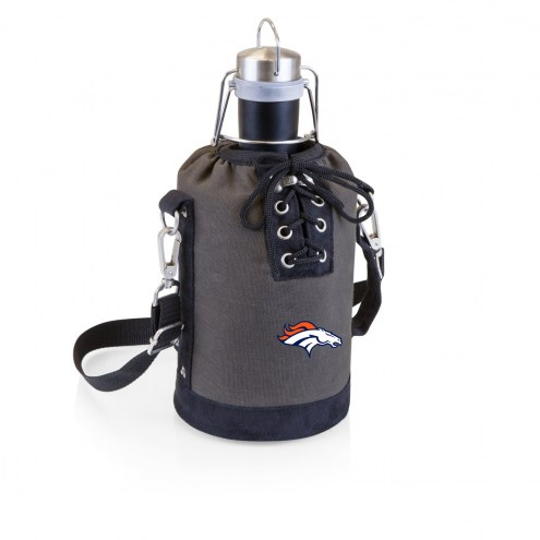 Denver Broncos Insulated Growler Tote with 64 oz. Stainless Steel Growler