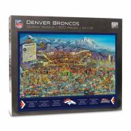 Denver Broncos Joe Journeyman Puzzle