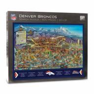 Denver Broncos Joe Journeyman Puzzle