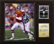 "Denver Broncos John Elway 12 x 15"" Player Plaque"