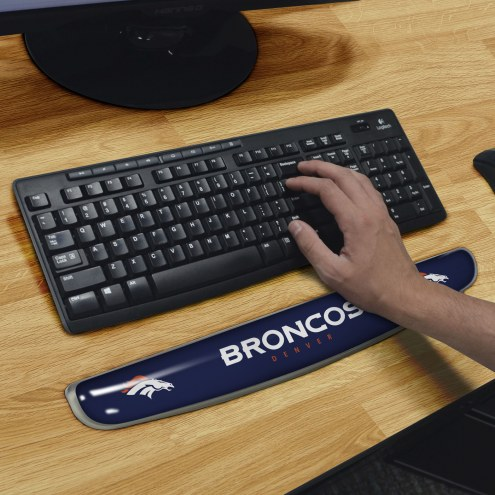 Denver Broncos Keyboard Wrist Rest