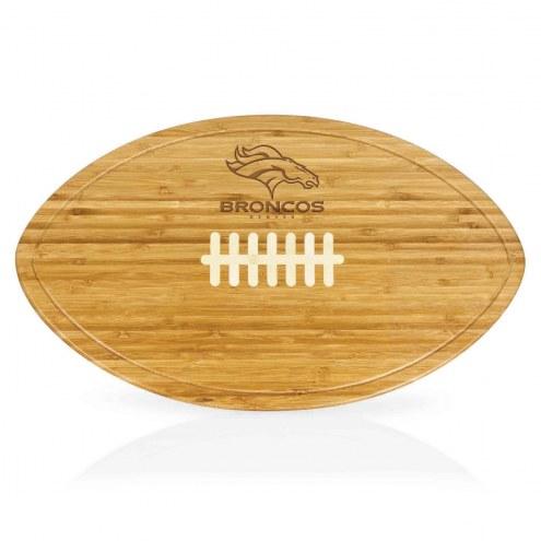 Denver Broncos Kickoff Cutting Board