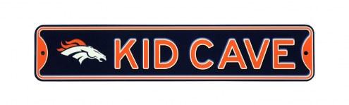 Denver Broncos Kid Cave Street Sign