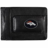 Denver Broncos Leather Cash & Cardholder