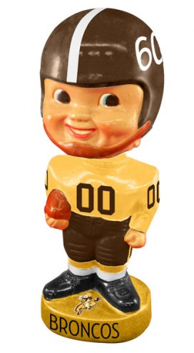 Denver Broncos Legacy Football Bobble Head
