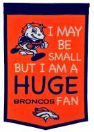 Denver Broncos Lil Fan Traditions Banner