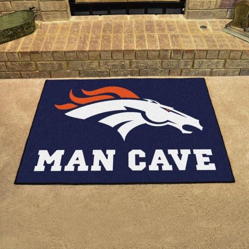 Denver Broncos Man Cave All-Star Rug