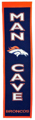 Denver Broncos Man Cave Banner