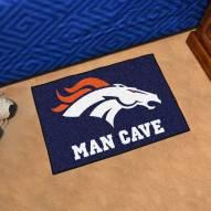 Denver Broncos Man Cave Starter Mat