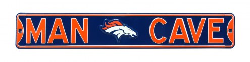 Denver Broncos Man Cave Street Sign