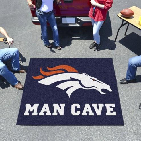 Denver Broncos Man Cave Tailgate Mat