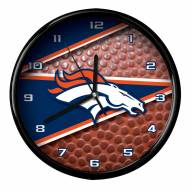 Denver Broncos Football Clock