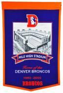 Denver Broncos Mile High Stadium Banner