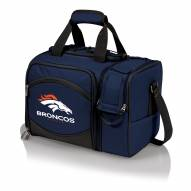 Denver Broncos Navy Malibu Picnic Pack