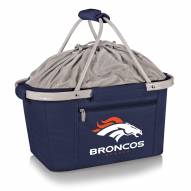 Denver Broncos Navy Metro Picnic Basket