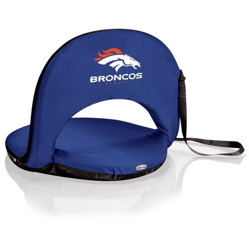 Denver Broncos Navy Oniva Beach Chair