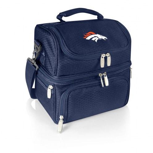 Denver Broncos Navy Pranzo Insulated Lunch Box
