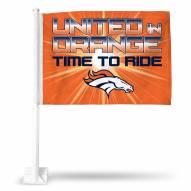 Denver Broncos NFL Car Flag