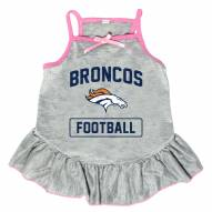 Denver Broncos NFL Gray Dog Dress