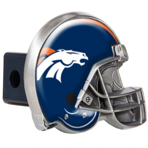 Denver Broncos NFL Football Helmet Trailer Hitch Cover