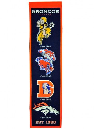 Denver Broncos NFL Heritage Banner