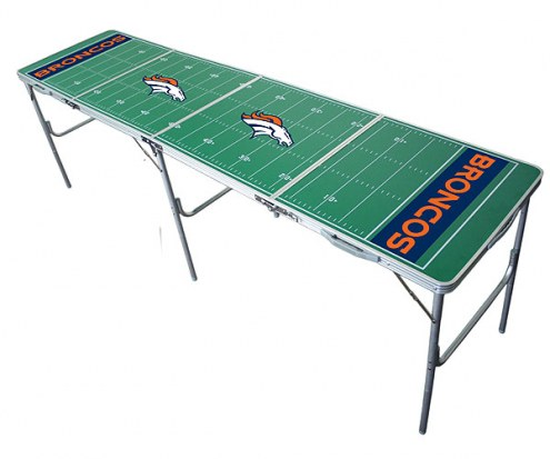 Denver Broncos NFL Tailgate Table
