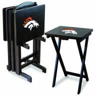 Denver Broncos NFL TV Trays - Set of 4