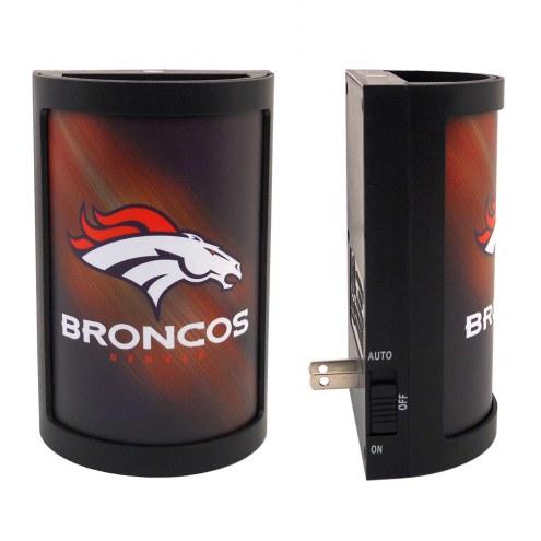 Denver Broncos Night Light Shade
