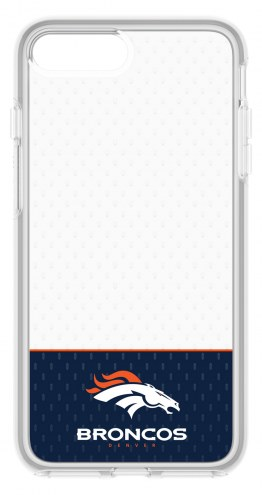 Denver Broncos OtterBox iPhone 8 Plus/7 Plus Symmetry Clear Case