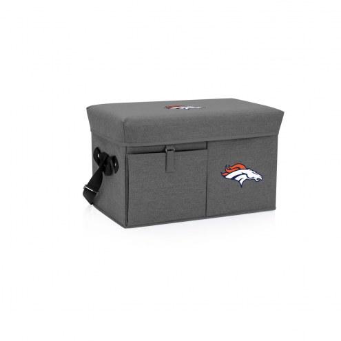 Denver Broncos Ottoman Cooler & Seat