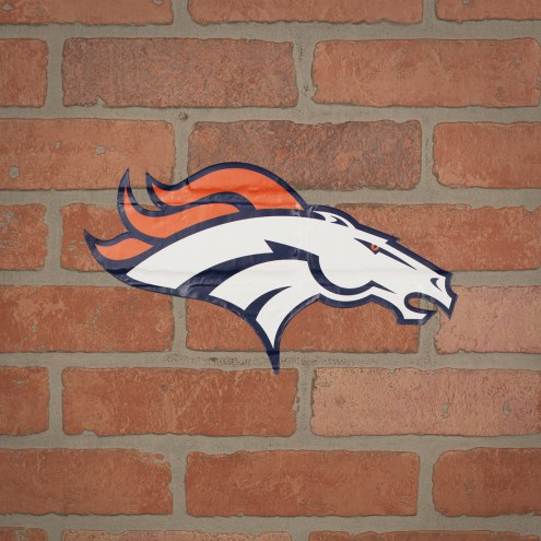 Denver Broncos Outdoor Logo Graphic