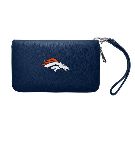 Denver Broncos Pebble Organizer Wallet